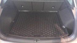 Коврик в багажник (поддон) Фольксваген Тигуан II (Volkswagen Tiguan II) борт 30 мм 2017-
