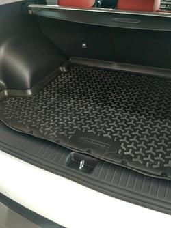 Коврик в багажник (поддон) Киа Спортейдж IV (Kia Sportage IV) борт 30 мм 2017-